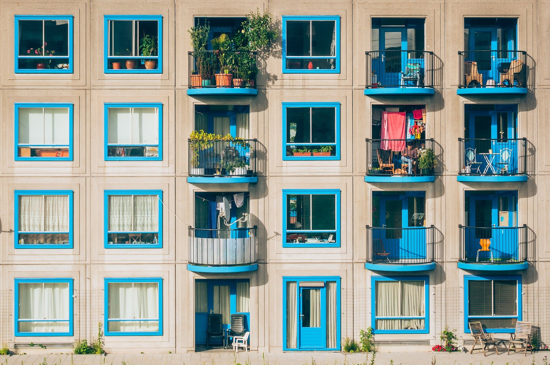 Bild på bostadsrättsförening